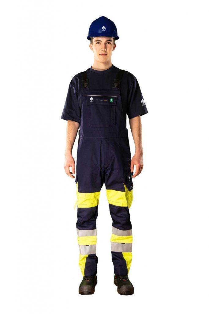 Augel-Kleidung-Front-Latzhose